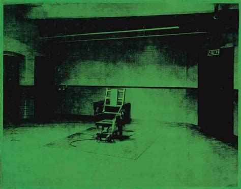 andy warhol 1928 1987 little electric chair christie s