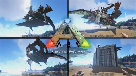 Ark Boat Glitch by Top 4 Quetzal Platforms Ark Survival Evolved