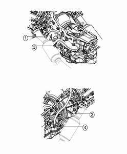 Dodge Durango Strap  Tie  Clip To O2 Sensor  Clip To