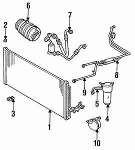 Buick Regal Tube  Ac Hose  Ac Line  Evaporator  Condenser  Cond  Compressor
