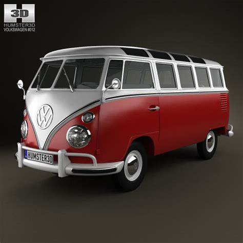 Volkswagen Caravelle 4k Wallpapers by Volkswagen Transporter T1 1950 3d Model For In