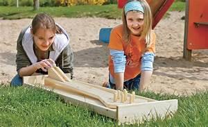 kegelbahn selber bauen kindergarten selbstde With französischer balkon mit garten bauen spiele