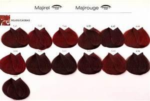 Loreal Majicontrast Colour Chart Tintes De Pelo Loreal Majirel Tintes De Pelo Color De