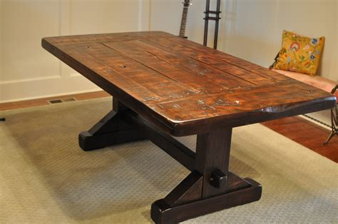 how to build a rustic table build rustic kitchen table interior home page