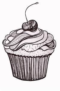 Pin Free Drawing Of Birthday Cake Kids Bw From The ...