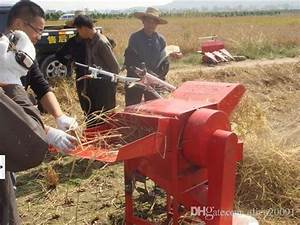 Mini Wheat Rice Thresher Machine  Paddy Soybean Threshing