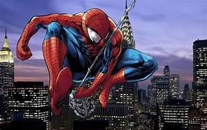 Spiderman Cartoon Wallpapers - Wallpaper Cave