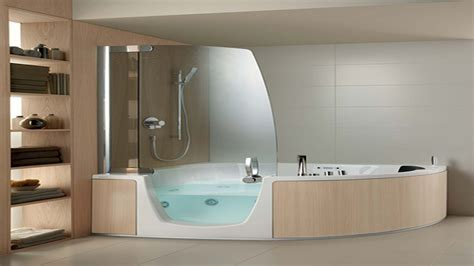 Whirlpool Bathtub Shower Combo by Free Standing Corner Bath Corner Whirlpool Tub Tile