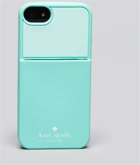 iphone 5 kate spade kate spade iphone 5 colorblock pocket in blue sea