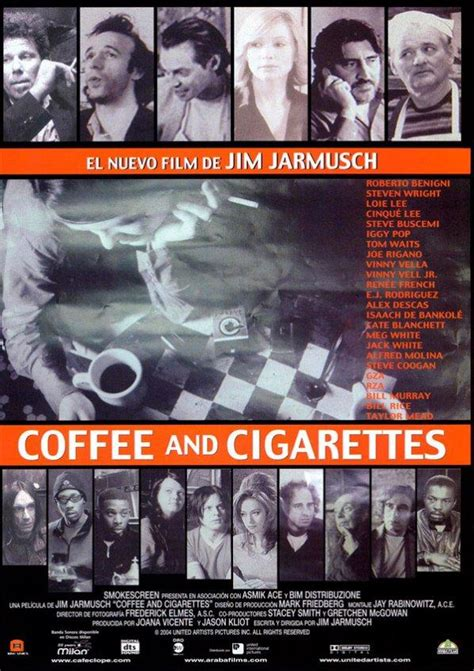 Coffee and cigarettes is a collection of eleven films from cult director jim jarmusch. Coffee and cigarettes - Pelicula - Sinopsis