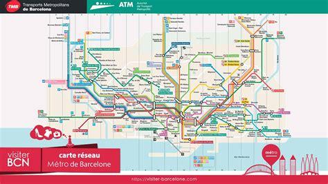 Carte Métro 2018 by Carte Metro Barcelone 2016 My
