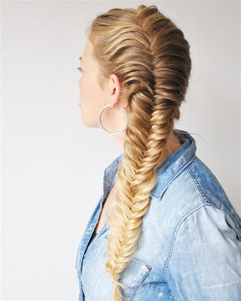 awesome jazzed  fishtail braid hairstyles