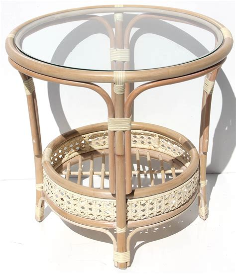 Juniper coffee table set it is a juniper coffee table set that has got four seats and round glass top. Round Rattan Coffee Table - Decor Ideas
