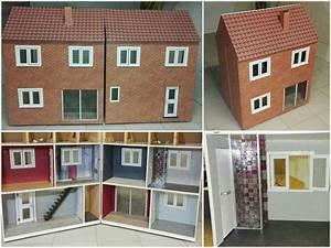 fabriquer une maison de poupee barbie en bois With beautiful modele de maison en l 8 image maison de barbie