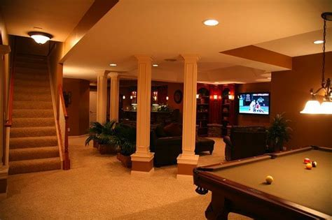 Awkward pillars or support beams in your basement? Make