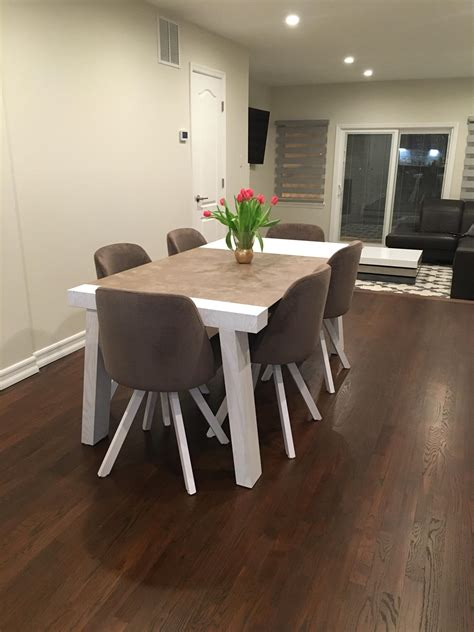 reyna dining room  albi chairs modern formal dining