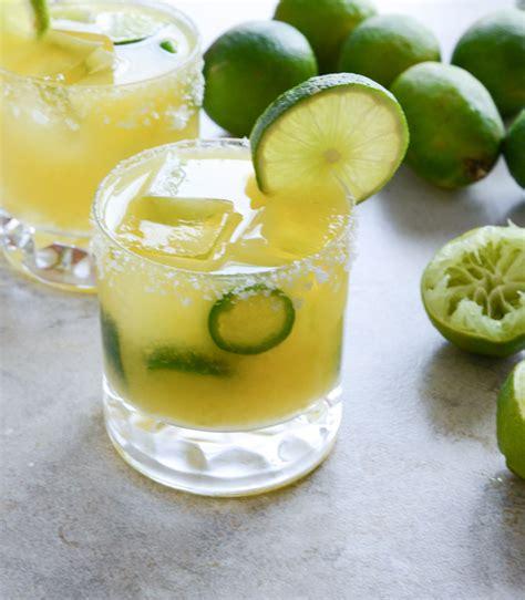 jalapeno margaritas mango jalapeño margaritas