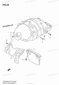 Suzuki Motorcycle 2007 Oem Parts Diagram For Rear Fender