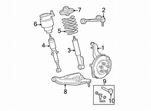 Ford Expedition Shock Absorber  Suspension  Front  Control