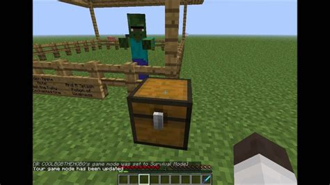 villager zombie turn normal