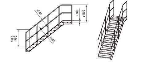 corrimano scale normativa progettazione scale scale a e parapetti en iso