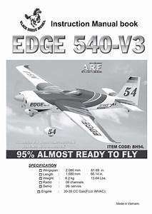 Black Horse Model Edge 540