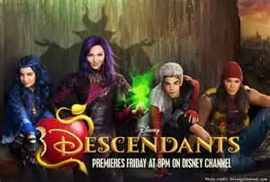 Descendants Movie Cast Disney