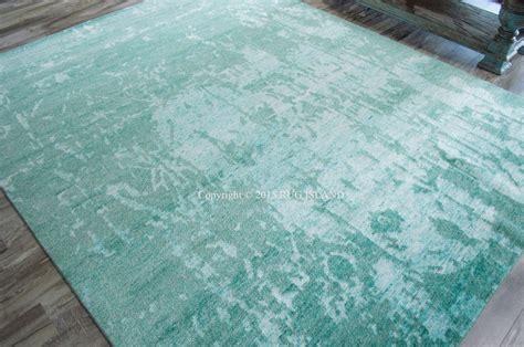aqua area rug 8x10 8x10 7 9 quot x 9 9 quot knotted nourison wool silk shadows