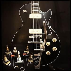 Sidewinder Guitars Les Paul Wiring Kit  Short Frame Toggle