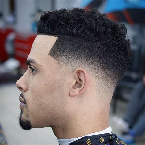 fade haircuts  black men cool mens haircuts curly hair styles medium fade haircut