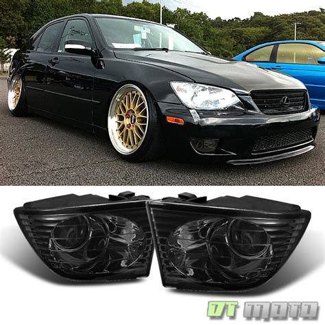 jdm lexus is300 smoke 2001 2005 lexus is300 jdm projector fog lights 01 05