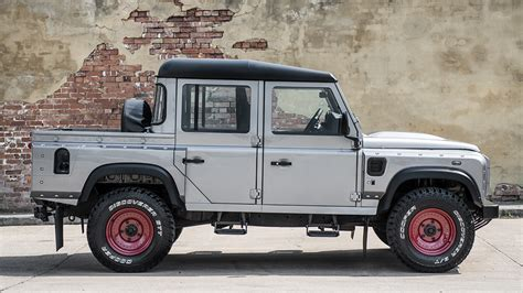 land rover pickup truck kahn design creates another land rover defender pickup