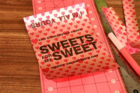 That translates into tons of trash from candy wrappers. Personalized Chocolate Bar Wrappers using Craft Attitude - Jonathan Fong Style