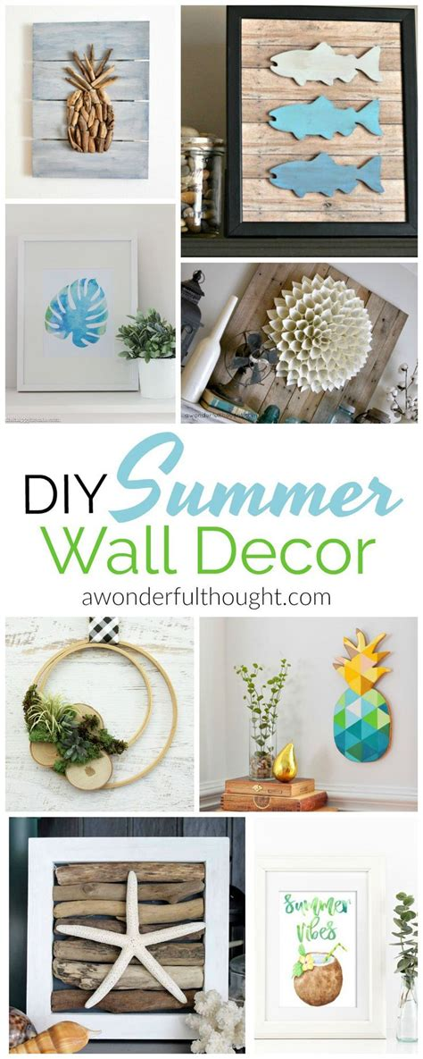 25 best ideas about diy summer decorations on pinterest