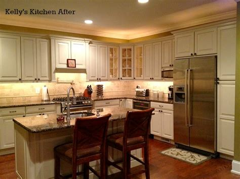 lights for kitchen islands 6 dramatic kitchen makeovers hooked on houses