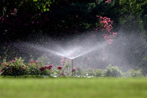 sprinkler sprinklers irrigation landscaping systems system landscape ga peachtree aboveground installation mirage calgary landscapes georgia install homeowner protecting investment