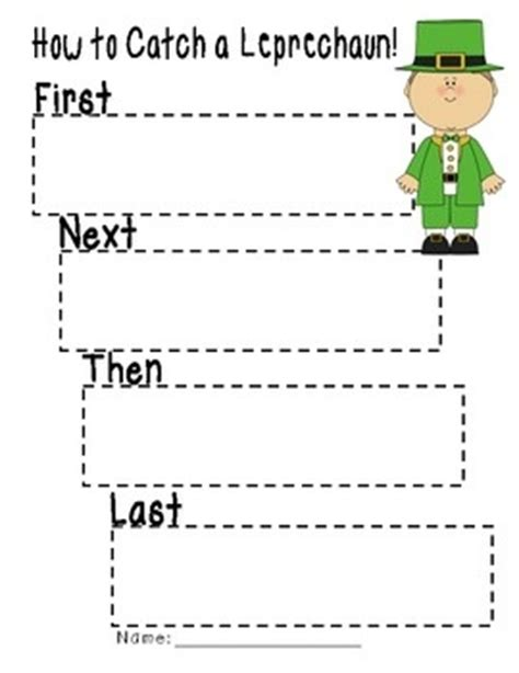 trap 10 5 template 10 images about leprechauns on pinterest literacy