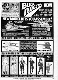 STARLOGGED - GEEK MEDIA AGAIN: 1979: BUCK ROGERS TOY ADVERT