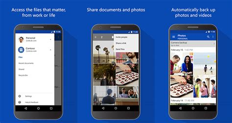 onedrive app for android onedrive s android client now lets you preview your office