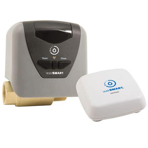 water leak detector leaksmart 1 in smart water valve kit 8841000h the home