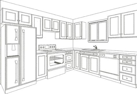 Kuche Zeichnung by Plan Your Kitchen With Drawings From Canadiana Kitchens