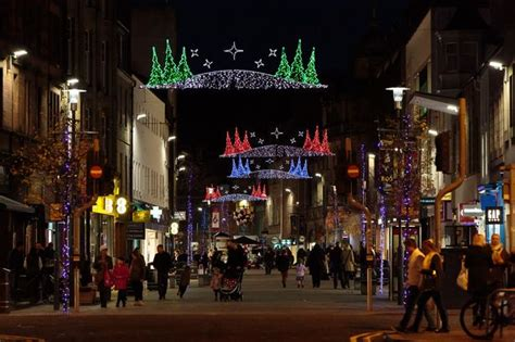 perth christmas lights schedule for the perth lights switch on on saturday november 21 daily record