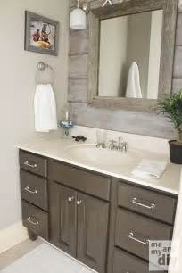 gray painted cabinets benjamin thunder gray bathroom paint color the barnboard
