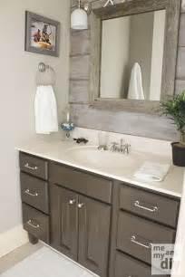 benjamin bathroom paint ideas gray painted cabinets benjamin thunder gray bathroom paint color the barnboard