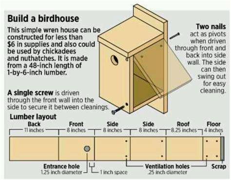 birdhouse plan  pj cabane doiseaux  plan pinterest birdhouses