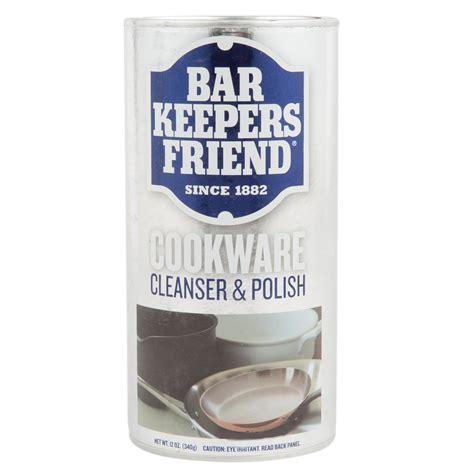 keepers bar friend cookware powder polishing cleansing oz polish cleanser webstaurantstore plus