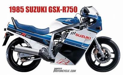 Suzuki Gsx 1985 R750 Animated Motorcycle