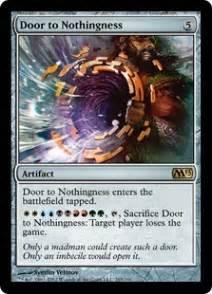 door to nothingness magic 2013 gatherer magic the