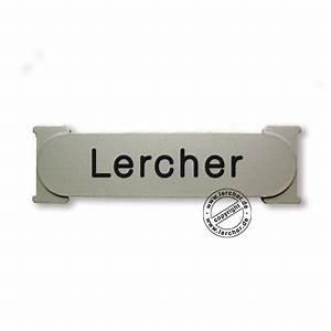 Namensschild Für Briefkasten : klingelschild renz rsa alu ~ Whattoseeinmadrid.com Haus und Dekorationen