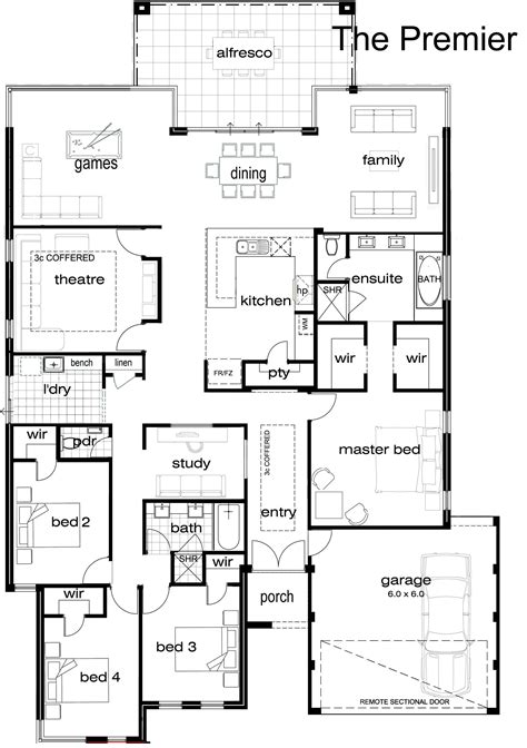 bedroom single story house plans bedroom  real estate single storey house plans single